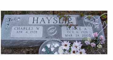 HAYSLIP, EUNICE A. - Adams County, Ohio | EUNICE A. HAYSLIP - Ohio Gravestone Photos