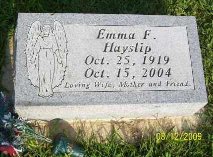 HAYSLIP, EMMA F - Adams County, Ohio | EMMA F HAYSLIP - Ohio Gravestone Photos