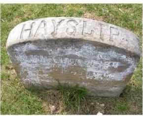 HAYSLIP, ELISHA - Adams County, Ohio | ELISHA HAYSLIP - Ohio Gravestone Photos