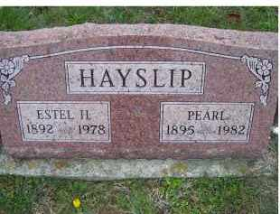 HAYSLIP, ESTEL H. - Adams County, Ohio | ESTEL H. HAYSLIP - Ohio Gravestone Photos