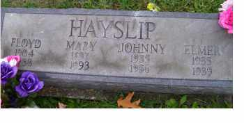 HAYSLIP, JOHNNY - Adams County, Ohio | JOHNNY HAYSLIP - Ohio Gravestone Photos