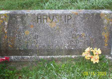 HAYSLIP, JAMES W - Adams County, Ohio | JAMES W HAYSLIP - Ohio Gravestone Photos