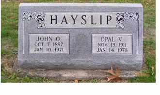 HAYSLIP, OPAL V. - Adams County, Ohio | OPAL V. HAYSLIP - Ohio Gravestone Photos