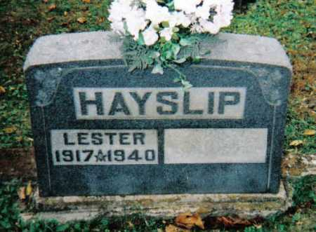 HAYSLIP, LESTER - Adams County, Ohio | LESTER HAYSLIP - Ohio Gravestone Photos