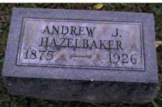 HAZELBAKER, ANDREW J. - Adams County, Ohio | ANDREW J. HAZELBAKER - Ohio Gravestone Photos