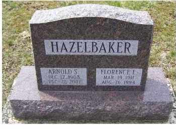 HAZELBAKER, ARNOLD S. - Adams County, Ohio | ARNOLD S. HAZELBAKER - Ohio Gravestone Photos