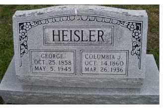 HEISLER, GEORGE - Adams County, Ohio | GEORGE HEISLER - Ohio Gravestone Photos