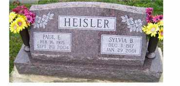 HEISLER, PAUL E. - Adams County, Ohio | PAUL E. HEISLER - Ohio Gravestone Photos