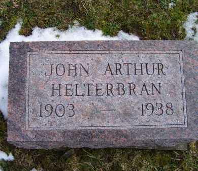 HELTERBRAN, JOHN ARTHUR - Adams County, Ohio | JOHN ARTHUR HELTERBRAN - Ohio Gravestone Photos