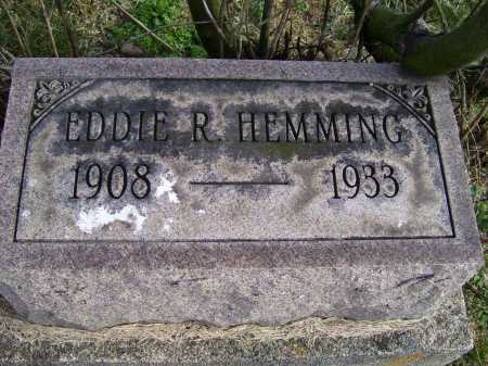 HEMMING, EDDIE R. - Adams County, Ohio | EDDIE R. HEMMING - Ohio Gravestone Photos