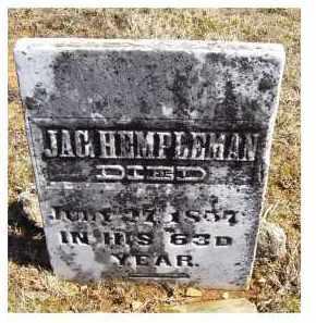HEMPLEMAN, JAC. - Adams County, Ohio | JAC. HEMPLEMAN - Ohio Gravestone Photos