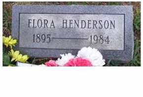 HENDERSON, FLORA - Adams County, Ohio | FLORA HENDERSON - Ohio Gravestone Photos