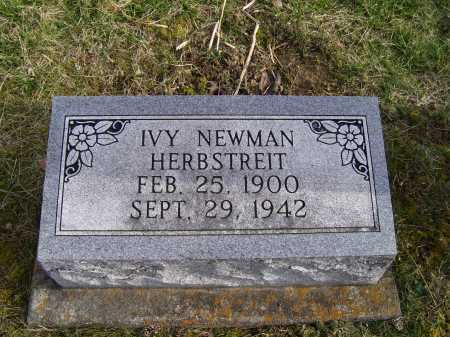 HERBSTREIT, IVY - Adams County, Ohio | IVY HERBSTREIT - Ohio Gravestone Photos