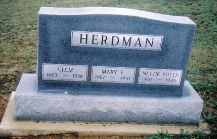 HERDMAN, MARY E. - Adams County, Ohio | MARY E. HERDMAN - Ohio Gravestone Photos
