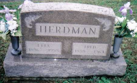 HERDMAN, FRED - Adams County, Ohio | FRED HERDMAN - Ohio Gravestone Photos