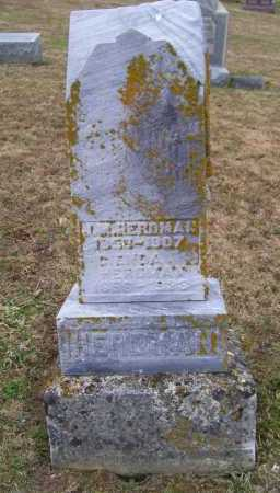 HERDMAN, CIENDA - Adams County, Ohio | CIENDA HERDMAN - Ohio Gravestone Photos