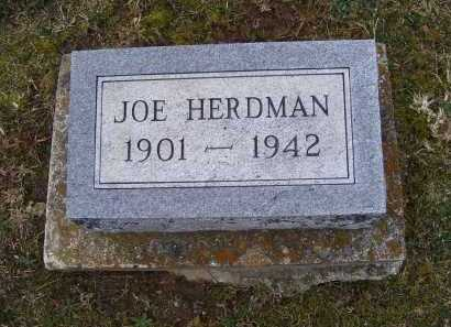 HERDMAN, JOE - Adams County, Ohio | JOE HERDMAN - Ohio Gravestone Photos