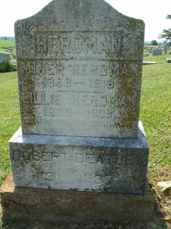 HERDMAN, LILLIE M - Adams County, Ohio | LILLIE M HERDMAN - Ohio Gravestone Photos