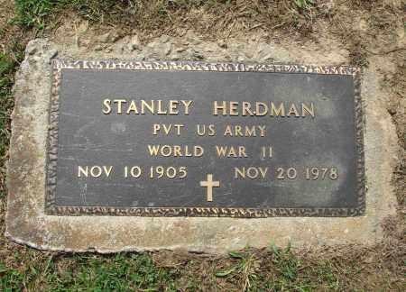 HERDMAN, STANLEY - Adams County, Ohio | STANLEY HERDMAN - Ohio Gravestone Photos