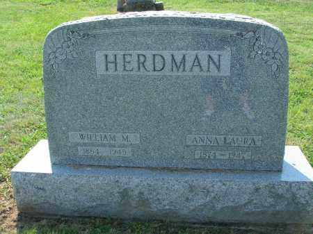 HERDMAN, ANNA LAURA - Adams County, Ohio | ANNA LAURA HERDMAN - Ohio Gravestone Photos