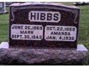 HIBBS, MARK - Adams County, Ohio | MARK HIBBS - Ohio Gravestone Photos