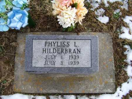 HILDERBRAN, PHYLISS L. - Adams County, Ohio | PHYLISS L. HILDERBRAN - Ohio Gravestone Photos
