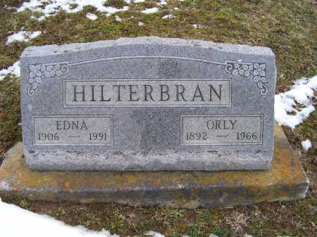 HILTERBRAN, EDNA - Adams County, Ohio | EDNA HILTERBRAN - Ohio Gravestone Photos