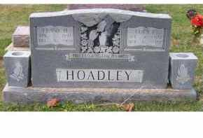 HOADLEY, LUCY E. - Adams County, Ohio | LUCY E. HOADLEY - Ohio Gravestone Photos