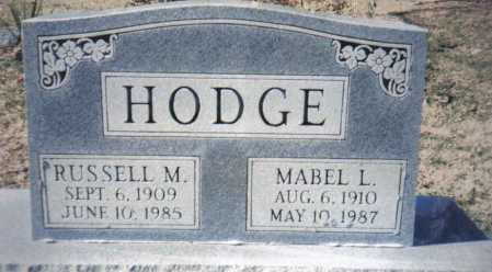 HODGE, MABEL L. - Adams County, Ohio | MABEL L. HODGE - Ohio Gravestone Photos