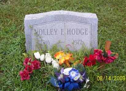 HODGE, VOLLEY F - Adams County, Ohio | VOLLEY F HODGE - Ohio Gravestone Photos