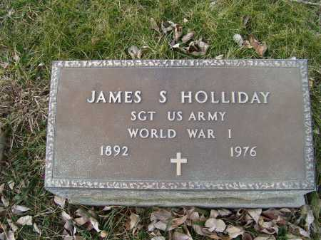 HOLLIDAY, JAMES S. - Adams County, Ohio | JAMES S. HOLLIDAY - Ohio Gravestone Photos