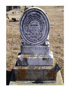 HOLLINGSWORTH, ABRAHAM - Adams County, Ohio | ABRAHAM HOLLINGSWORTH - Ohio Gravestone Photos