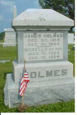 HOLMES, MORELLO - Adams County, Ohio | MORELLO HOLMES - Ohio Gravestone Photos
