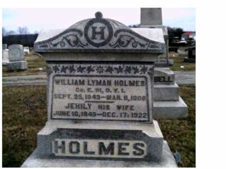 HOLMES, JEHILY - Adams County, Ohio | JEHILY HOLMES - Ohio Gravestone Photos