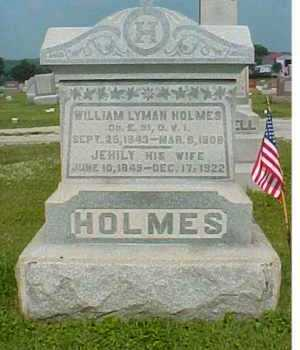 ROBUCK HOLMES, JEHILY - Adams County, Ohio | JEHILY ROBUCK HOLMES - Ohio Gravestone Photos