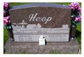 HOOP, GLENN N. - Adams County, Ohio | GLENN N. HOOP - Ohio Gravestone Photos