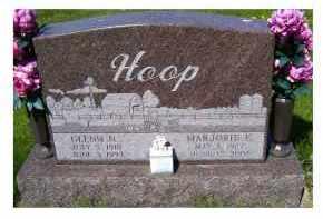 HOOP, MARJORIE E. - Adams County, Ohio | MARJORIE E. HOOP - Ohio Gravestone Photos