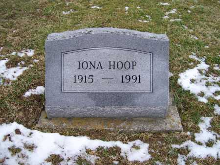 HOOP, IONA - Adams County, Ohio | IONA HOOP - Ohio Gravestone Photos