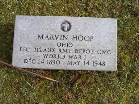 HOOP, MARVIN - Adams County, Ohio | MARVIN HOOP - Ohio Gravestone Photos
