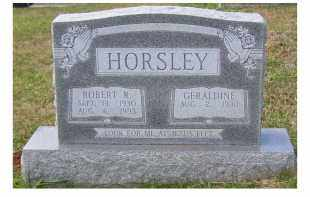 HORSLEY, ROBERT R. - Adams County, Ohio | ROBERT R. HORSLEY - Ohio Gravestone Photos