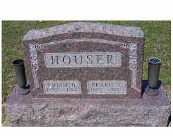 HOUSER, URIAH B. - Adams County, Ohio | URIAH B. HOUSER - Ohio Gravestone Photos