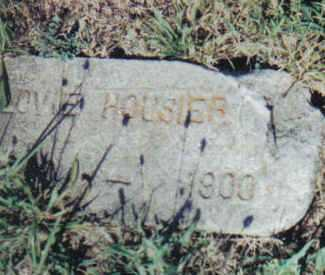 HOUSIER, LOVIE - Adams County, Ohio | LOVIE HOUSIER - Ohio Gravestone Photos