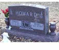 HOWARD, DONALD B - Adams County, Ohio | DONALD B HOWARD - Ohio Gravestone Photos