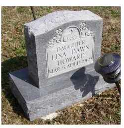 HOWARD, LISA DAWN - Adams County, Ohio | LISA DAWN HOWARD - Ohio Gravestone Photos