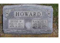 HOWARD, RAYMOND E - Adams County, Ohio | RAYMOND E HOWARD - Ohio Gravestone Photos