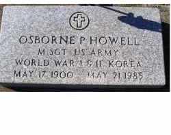HOWELL, OSBORNE P. - Adams County, Ohio | OSBORNE P. HOWELL - Ohio Gravestone Photos
