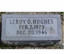 HUGHES, LEROY O. - Adams County, Ohio | LEROY O. HUGHES - Ohio Gravestone Photos