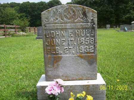 HULL, JOHN FRANKLIN - Adams County, Ohio | JOHN FRANKLIN HULL - Ohio Gravestone Photos