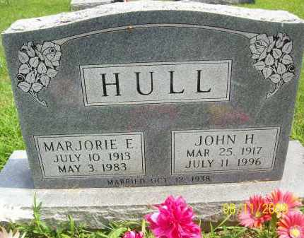 HULL, JOHN H - Adams County, Ohio | JOHN H HULL - Ohio Gravestone Photos