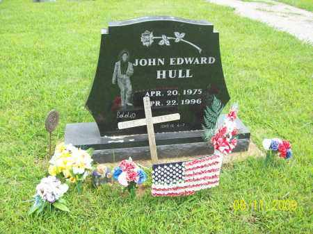 HULL, JOHN EDWARD - Adams County, Ohio | JOHN EDWARD HULL - Ohio Gravestone Photos